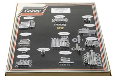 Polished Engine Dress Up Bolt Kit for FXST & FXWG 1984-1985