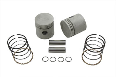 .060 Piston Kit with Thick Ring for 1929-1952 WL & G Models