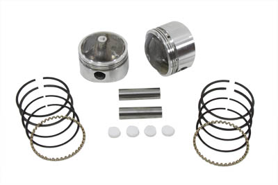 .030 8.25:1 Forged Stroker Piston Kit for 1978-1984 Big Twin