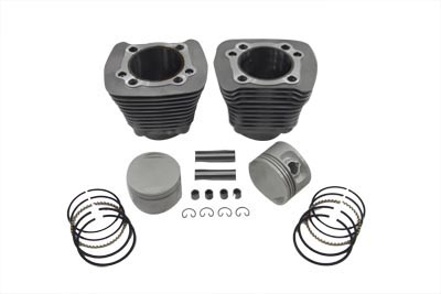 Replica 1200cc Cylinder & Piston Kit Silver for Harley XL 1988-03 EVO