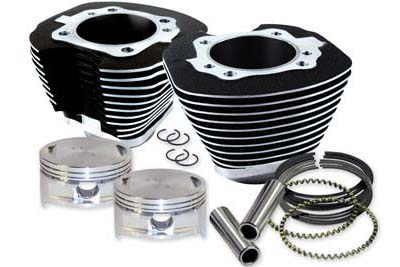 "106"" S&S Big Bore Twin Cam Cylinder Kit for Harley 2007-UP Big Twins"