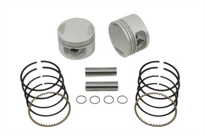 Replica 1200cc Piston Set .010 Oversize for XL 1988-UP Sportster