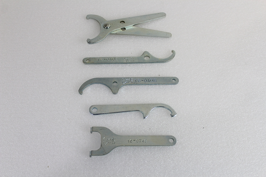 Shock Tool Set, 5 Piece for All Harley Models