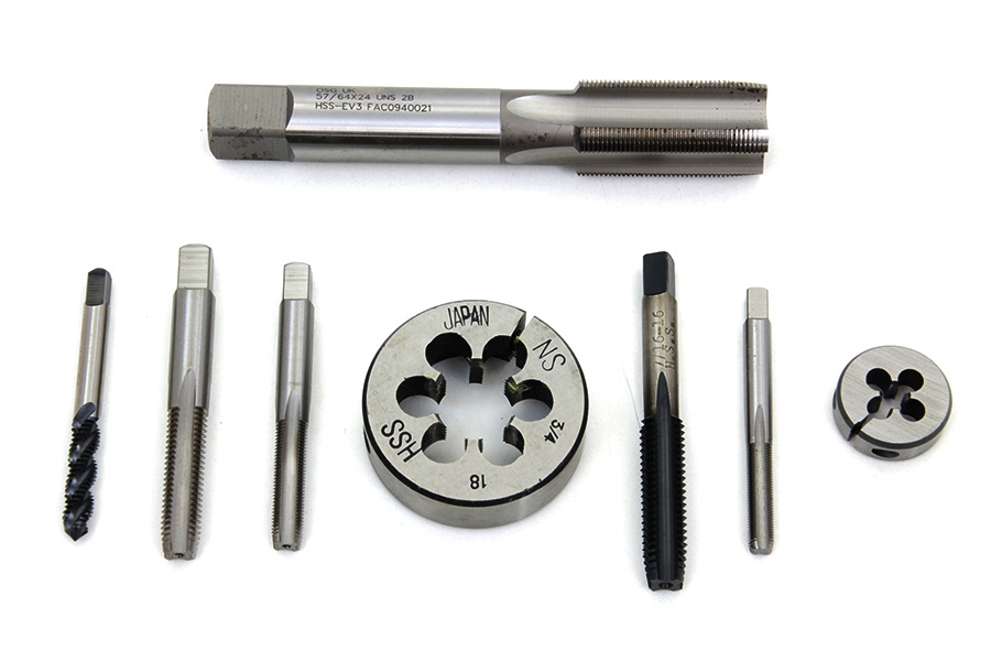 Die Tool and Tap Set for Harley Special Threads