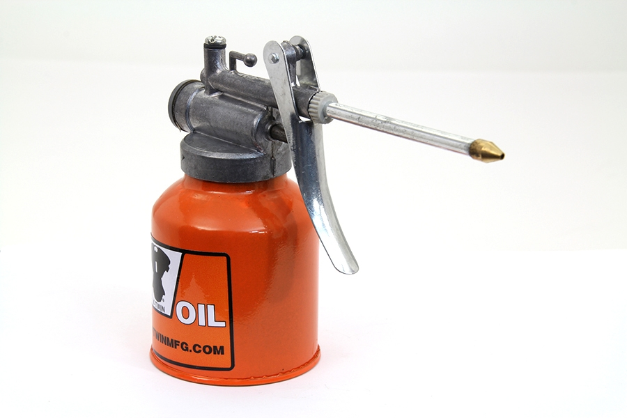 Metal Squirt Oil Can