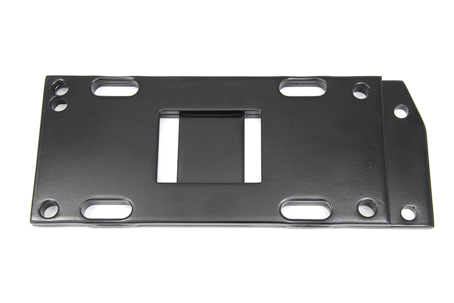 Black Transmission Mounting Plate for Harley 1936-84 Big Twins
