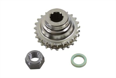Engine Sprocket with Spline 24 Tooth w/ 1-1/4 Offset for Big Twins