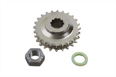 Engine Sprocket with Spline 24 Tooth w/ 1/4 in. Offset for Big Twins