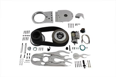 Brute V Belt Drive Kit with Direct Drive Starter for 2000-UP Softails