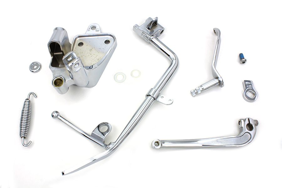Chrome FXST 2000-2006 Softail Standard Kickstand Assembly