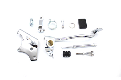 Chrome Wagner Brake Control Kit for 1972-1979 Big Twin