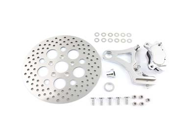 BILLET Rear Caliper and 11-1/2 Disc Kit for 2000-2005 Harley FXST