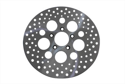 11.5 in. Drilled Front Brake Disc for Harley 2000-UP XL & Big Twins