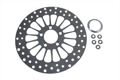Front Rear Spoke Disc Brake Rotor for 1984-up Big Twin
