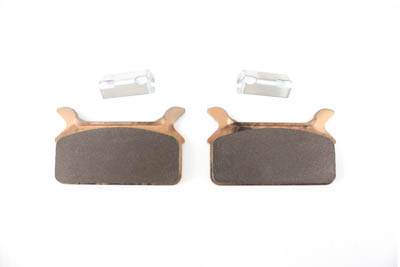 Dura Sintered Rear Brake Pad Set with Clip for FLT 1986-1999