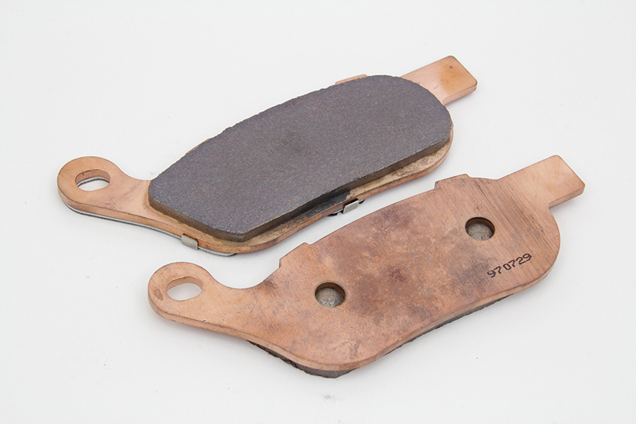 Dura Sintered Rear Brake Pad Set for FXST 2008-UP & FLST 2008-UP