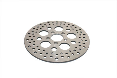 "11-1/2"" Drilled Stainless Front Brake Disc for Harley 2000-Up"