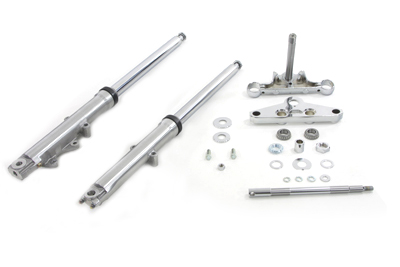41mm Wide Glide XL 1982-UP Fork Kit with Polished Sliders