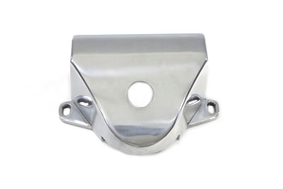Chrome Polished Handlebar Riser Cover for FL 1960-1979 Harley