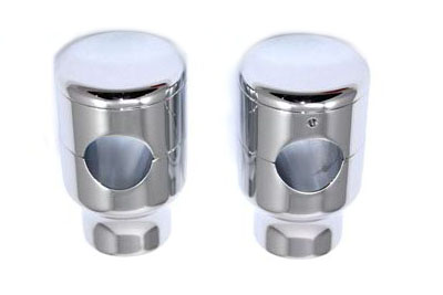2 inch Forged Aluminum Risers Set for Big Twin & XL Sportster