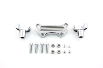 2 inch Chrome Stock Short Risers Kit for 1970-up Harley Big Twin