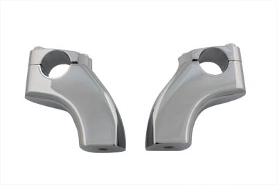 3-1/2 in. Pullback Riser Set Chrome for FXD 1991-UP w/ 1-1/4 in. Bars