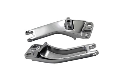 Chrome Rear Footpeg Mounting Set for 2006-up FXD FXDWG