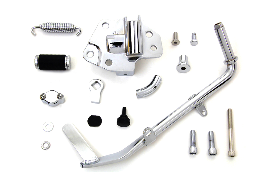 Chrome FLT 2009-UP Tour Glide Jiffy Kickstand Kit
