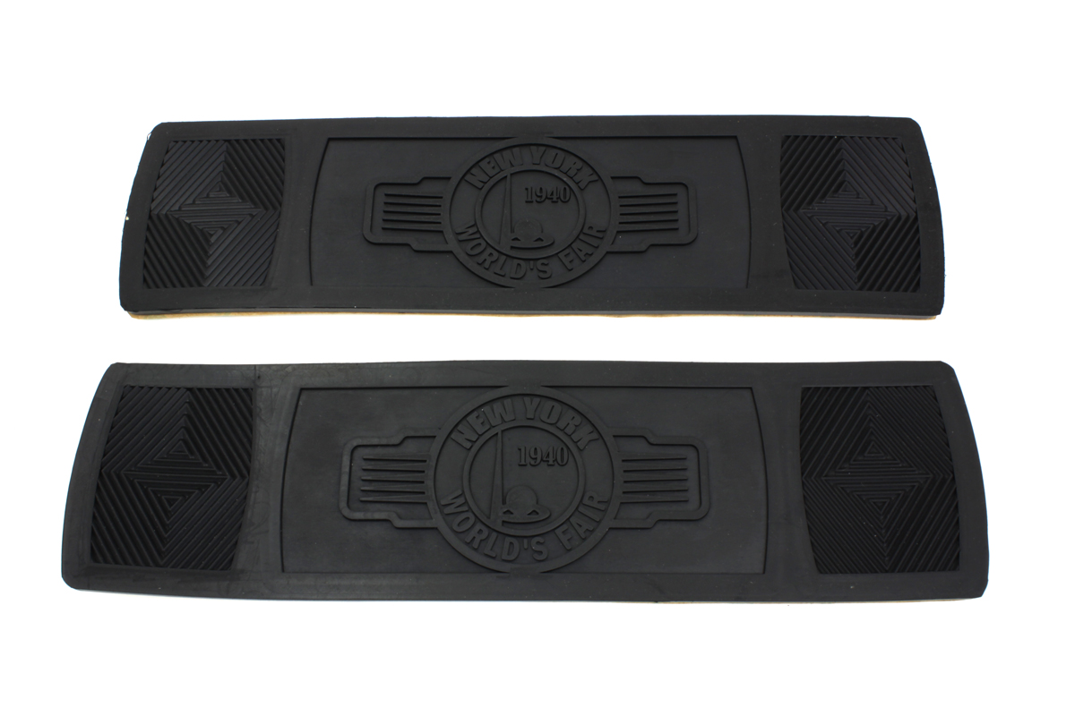 World's Fair Rectangular Footboard Rubber Set