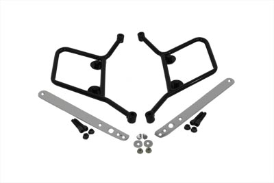 Bubble Saddlebag Hardware Mount Kit for 1984-2008 Softails