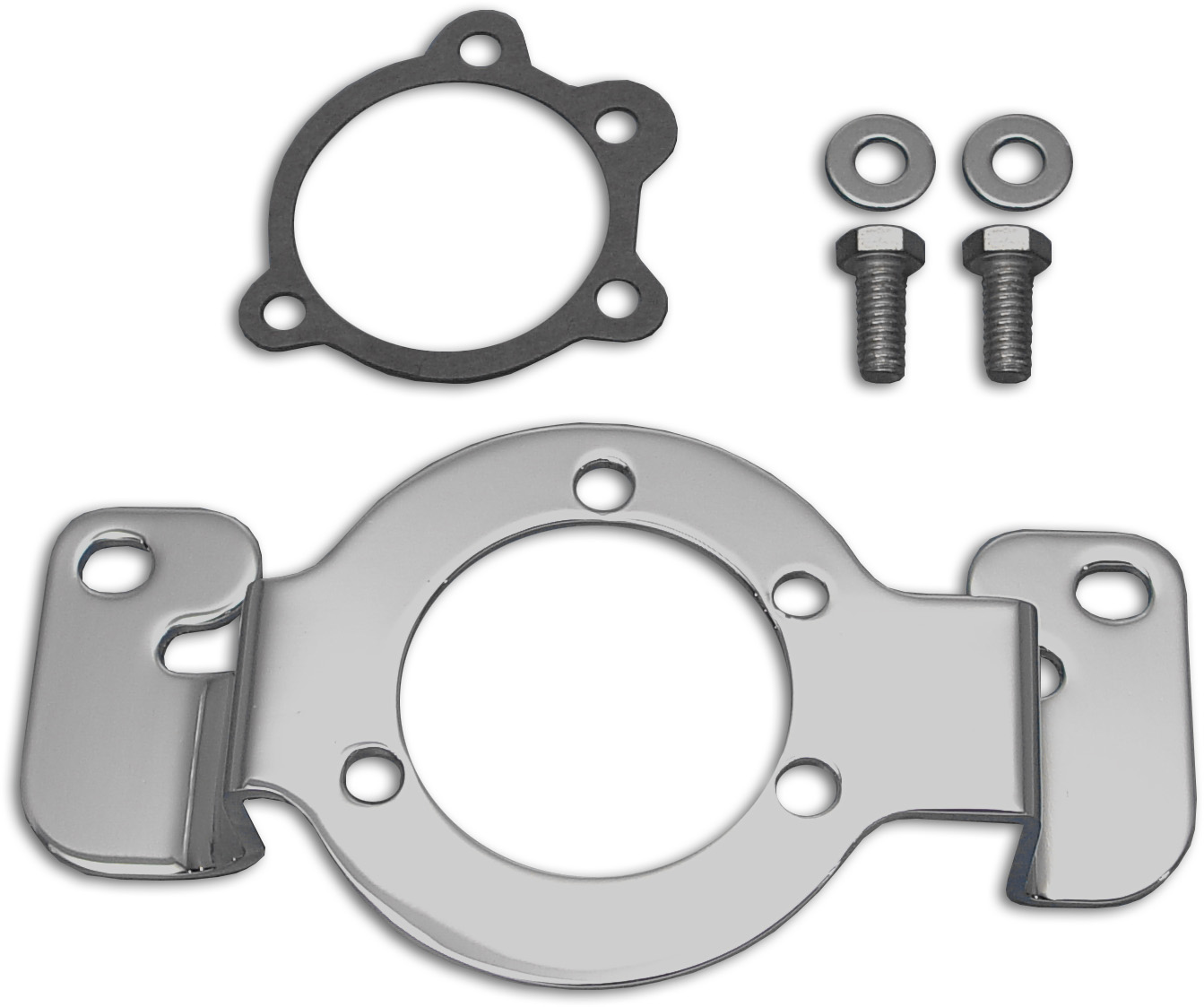 Air Cleaner Bracket Chrome for Softails & FXR 1984-1989 Big Twins
