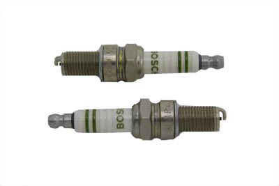 Bosch Silver Spark Plug Set for Harley XL 1985-UP Sportsters