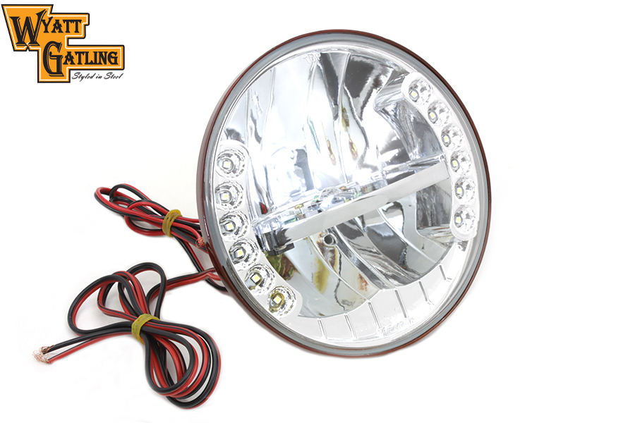 "7"" LED Headlamp Assembly for 1984-UP Big Twins"