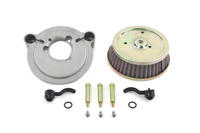 Air Cleaner and Backing Plate Kit for 1993-UP Softails & FXD