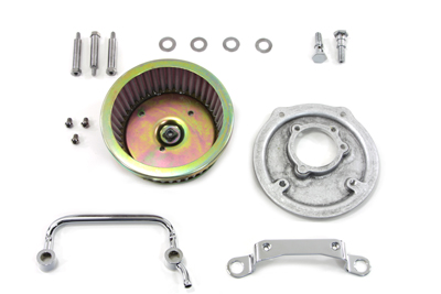 Air Cleaner Backing Plate Kit for 1999-UP FL & XL