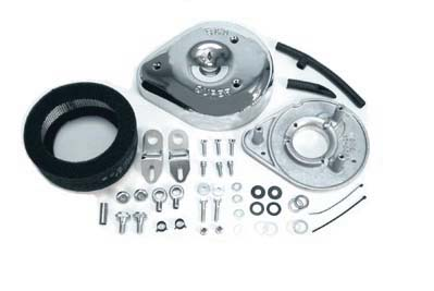 Chrome S&S Air Cleaner Assembly for 1993-up Big Twin EVO