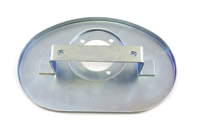CV Air Cleaner Backing Plate Oval Style for 1988-UP Big Twins & XL
