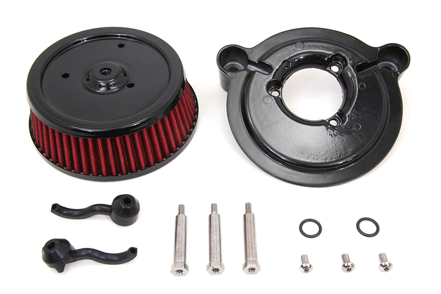 Air Cleaner and Backing Plate, FXD 1999-2007, FLT 2002-2007 & Softails