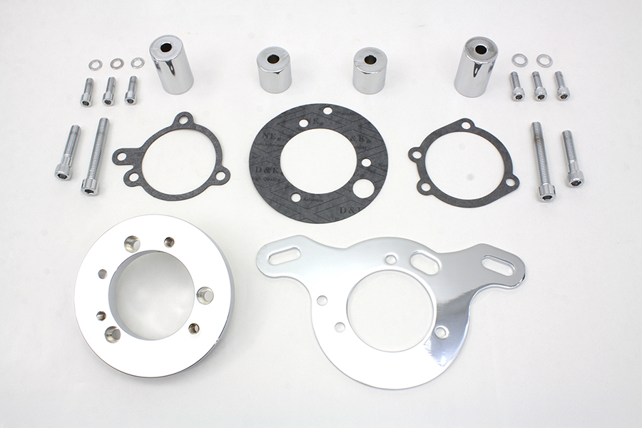 S&S Air Cleaner Adapter Kit for E & G Carbs