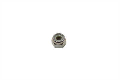 "Hex Nut Nyloc 1/4""-28 Chrome Fine Thread - 20 Pack"
