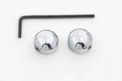 "1/4"" Socket Bolt Cover Set Chrome"