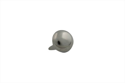"1/2"" Round Saddlebag Spot Nickel - 50 Pack"
