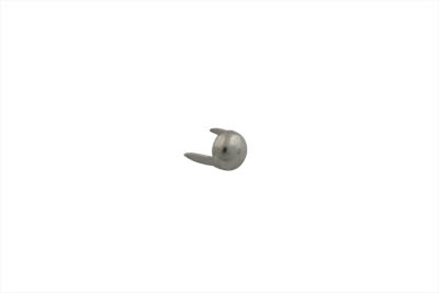 "1/4"" Round Saddlebag Spot Nickel - 50 Pack"