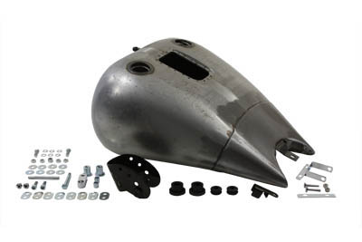 "2"" Stretch 5.1 Gallon Gas Tank for Harley 2000-2007 FXST & FLST"