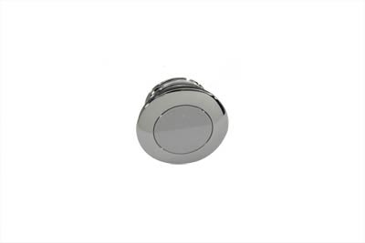 Smooth Pop-Up Vented Gas Cap for Harley & Customs