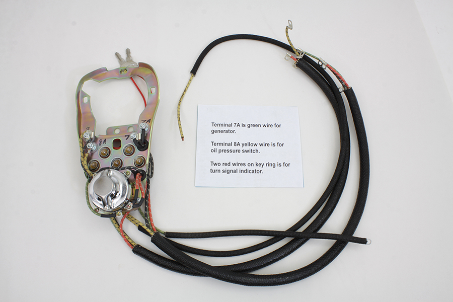 FL 1968-1969 Five Light Dash Base Wiring Harness Assembly