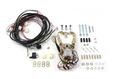 5 Light Dash Base Wiring Harness Assembly for 1984-88 Softails