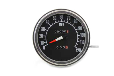 Fat Bob Speedometer w/ 1:1 Ratio for Harley 1962-1983 Big Twins
