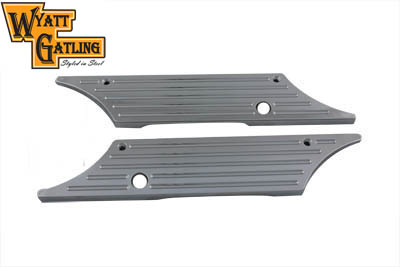 Chrome Billet FLT 1992-UP Tour Glide Saddlebag Latch Covers