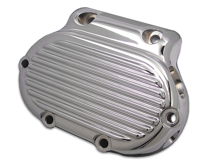 Clutch Release Cover Chrome Finned for Harley FLT 1987-1999